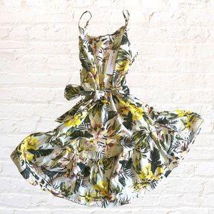 DECJUBA KIDS 'Laine' strappy summer dress, size M.